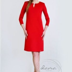 sukienka -żaneta-czerwona