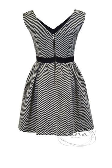 sukienka-Iga -plecy zyg-zak