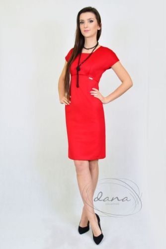 sukienka-Roma-czerwona