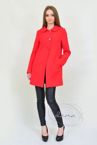 pląszcz -Ania- czerwony