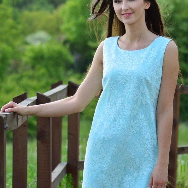 sukienka Karolina - mięta
