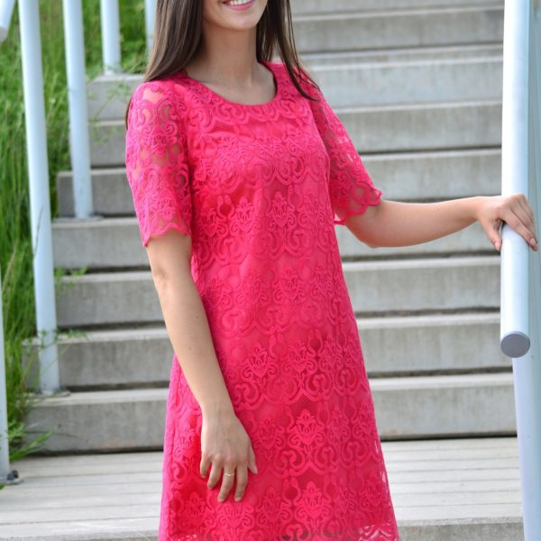 Sukienka- Judyta-koral