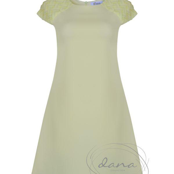 Sukienka-Dorota1- zółta