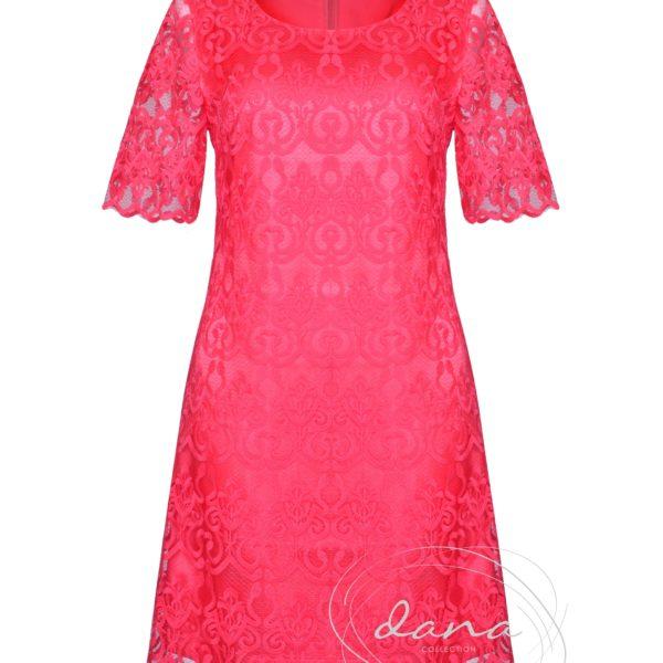 Sukienka- Judyta- koral